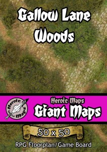 Heroic Maps - Gallow Lane Woods