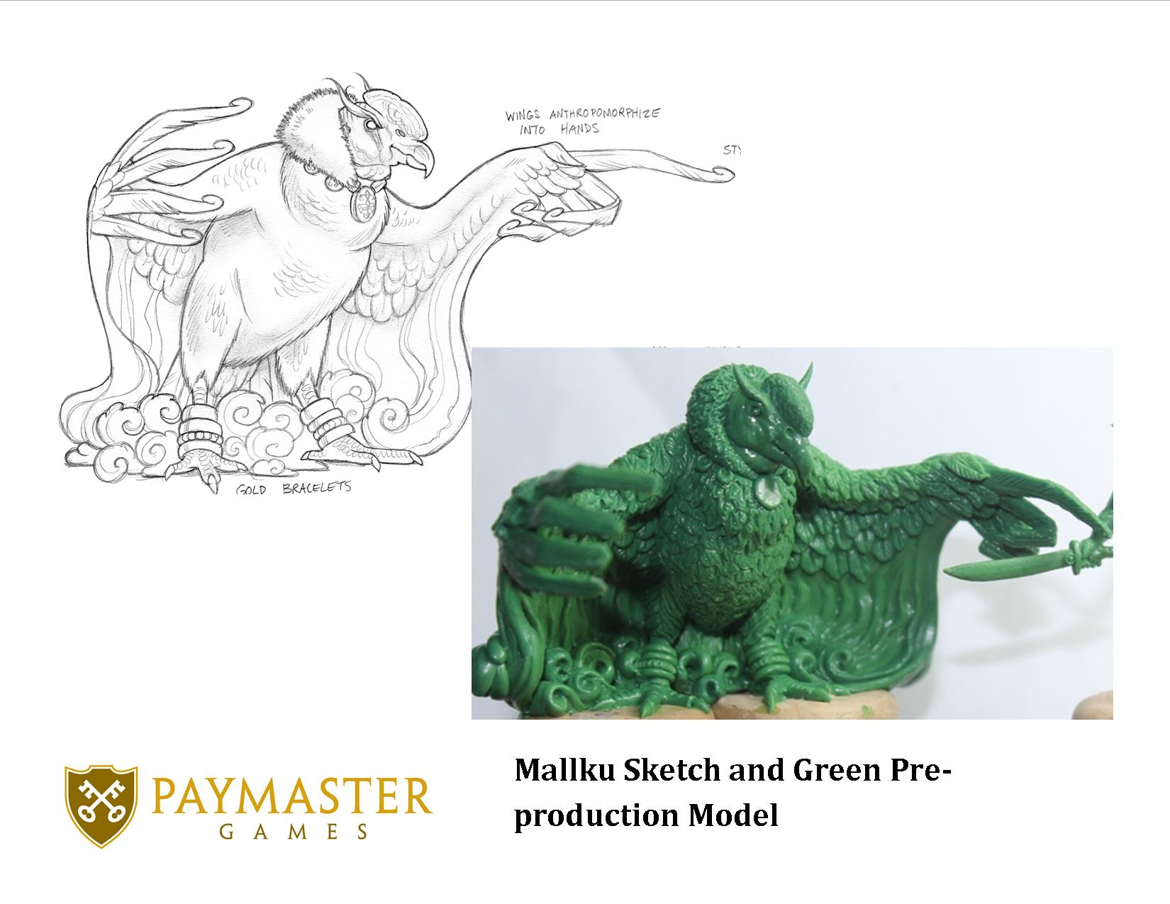 Mallku - sketch and model