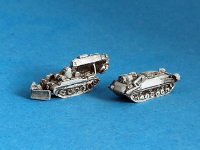 SA-6104 IMR and IRM Zhuk ( 7 pcs) Engineering vehicles