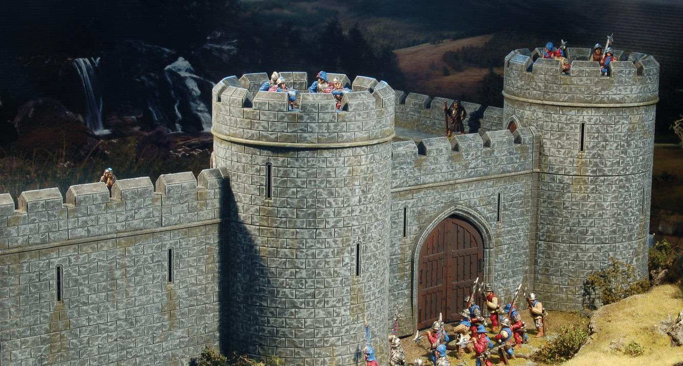 Tabletop Workshop Castle from Outside