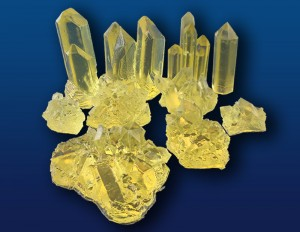 Yellow Crystals