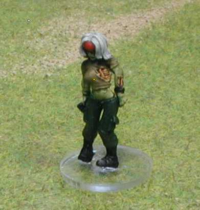 clear base 20mm round zombie