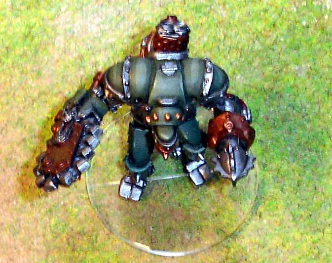 clear base 40mm round facings warmachine