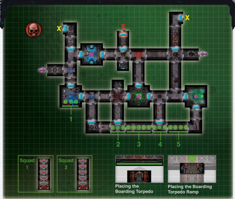 The Mission 1 Map