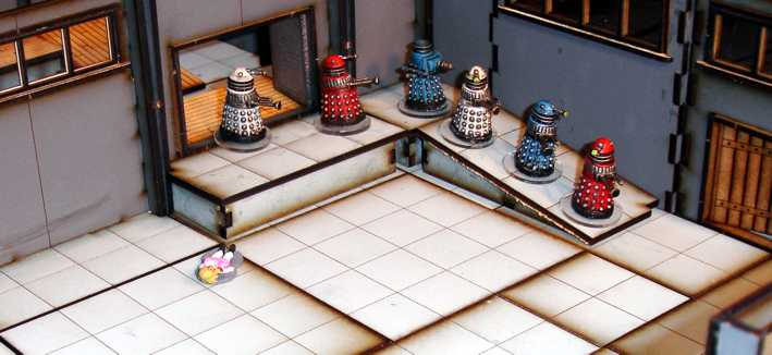 Dr Who Daleks 28mm Ramps 1