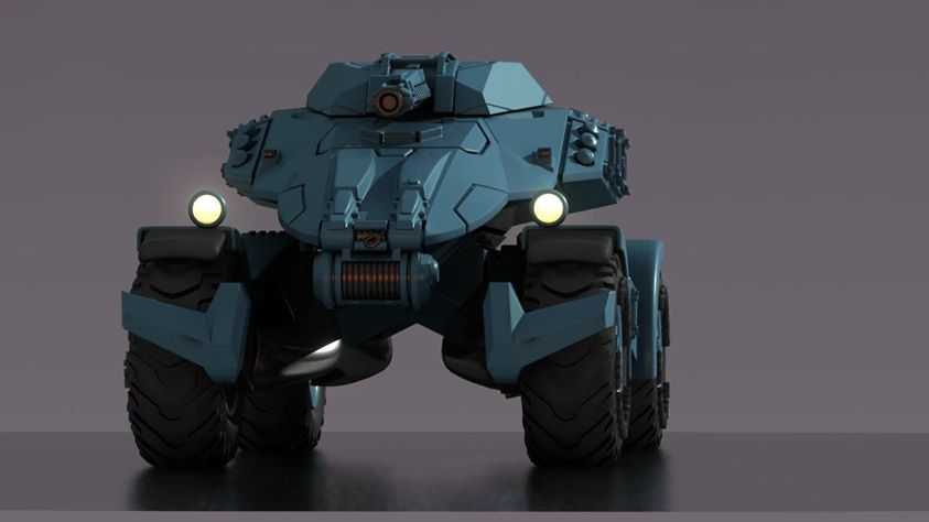 Hell Divers Light Strike Vehicle 1