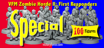 victory force zombie horde set II