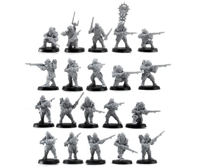 Solar Auxilia Lasrifle Sections