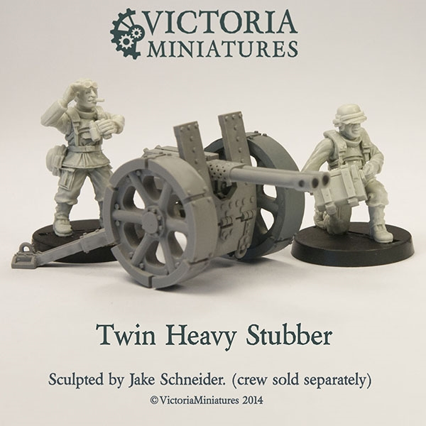 Twin Heavy Stubber