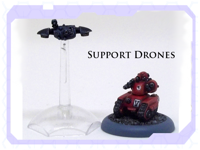 support drones