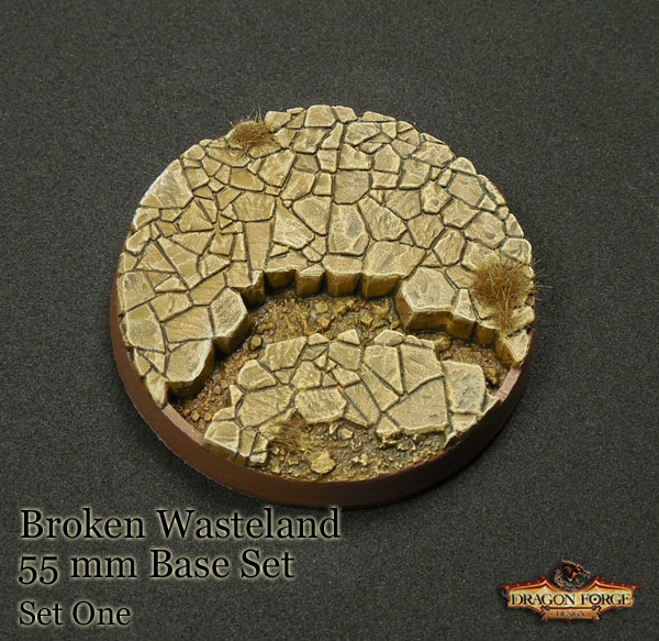 55 mm Broken Wasteland Version 1