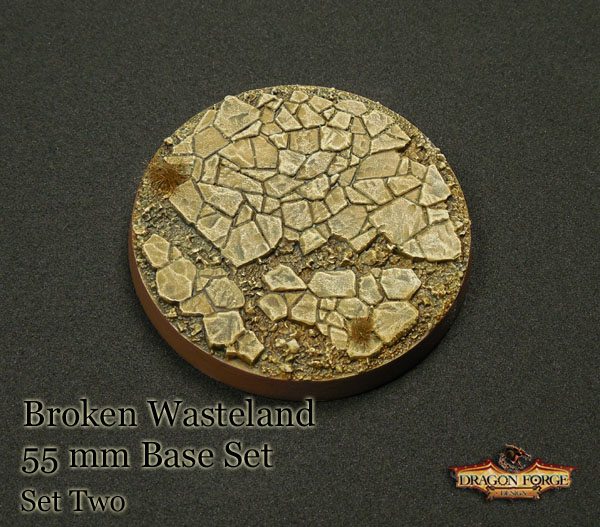 55 mm Broken Wasteland Version 2