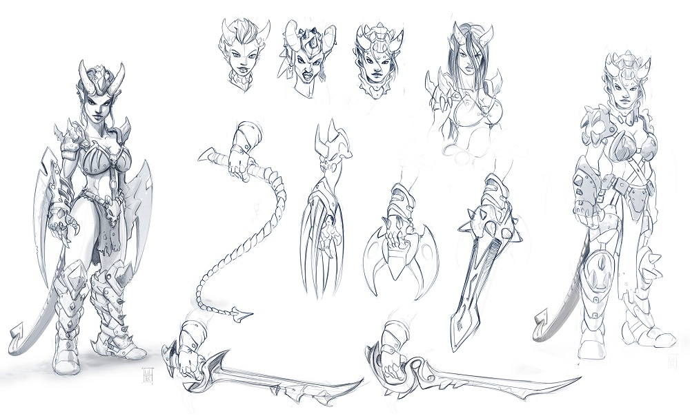 Abyssal-Succubus-variants