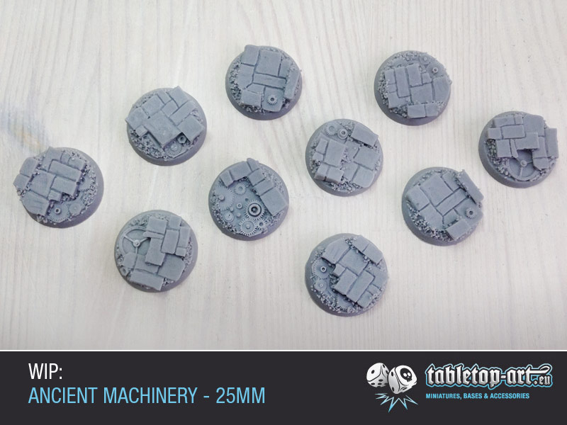 Ancient Machinery Bases 25mm