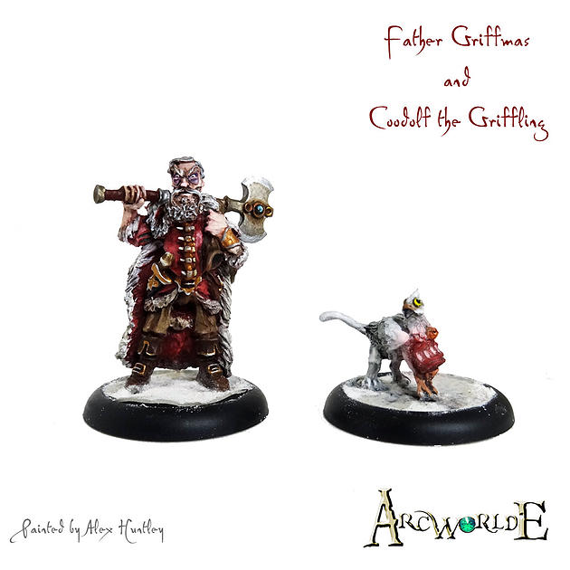 Father Griffmas and Coodolf