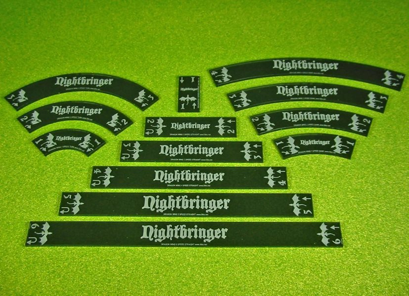 New Personalized Dragon Wing Maneuver Gauge Set From Litko