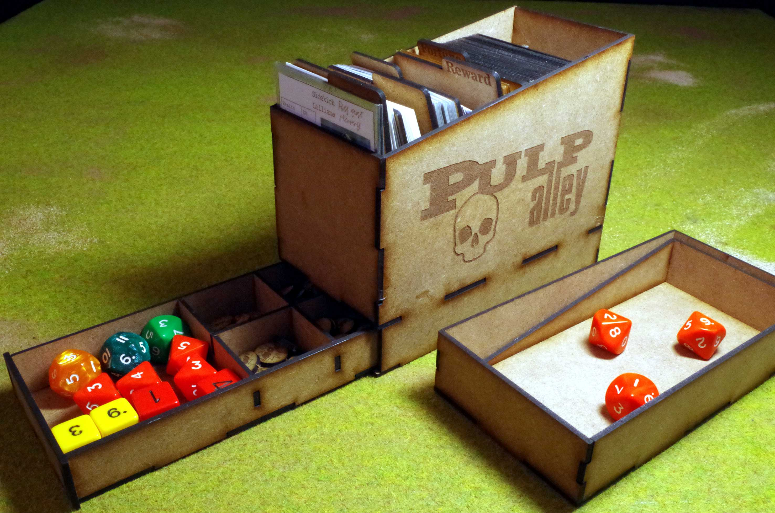 Pulp Alley Card Storage 1
