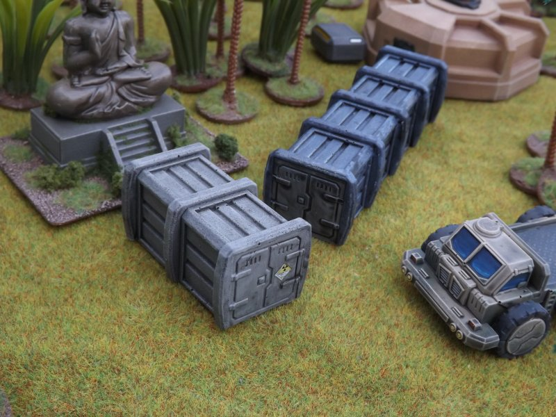 Small Cargo Container