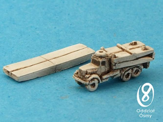 TMM Bridge (7 + 7 pcs) Soviet truck-based bridge system