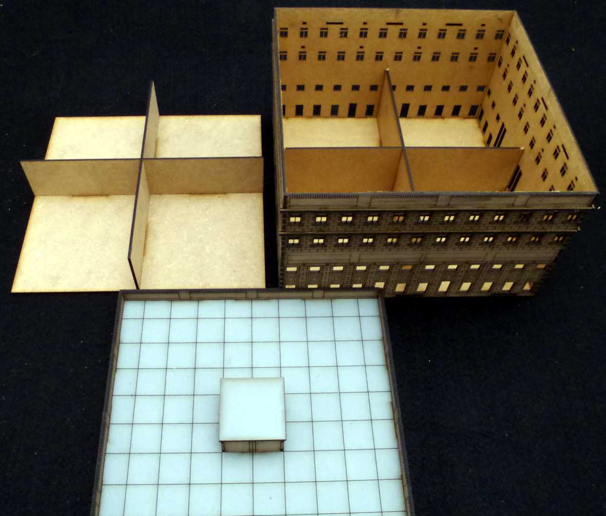 15mm city block Building 2