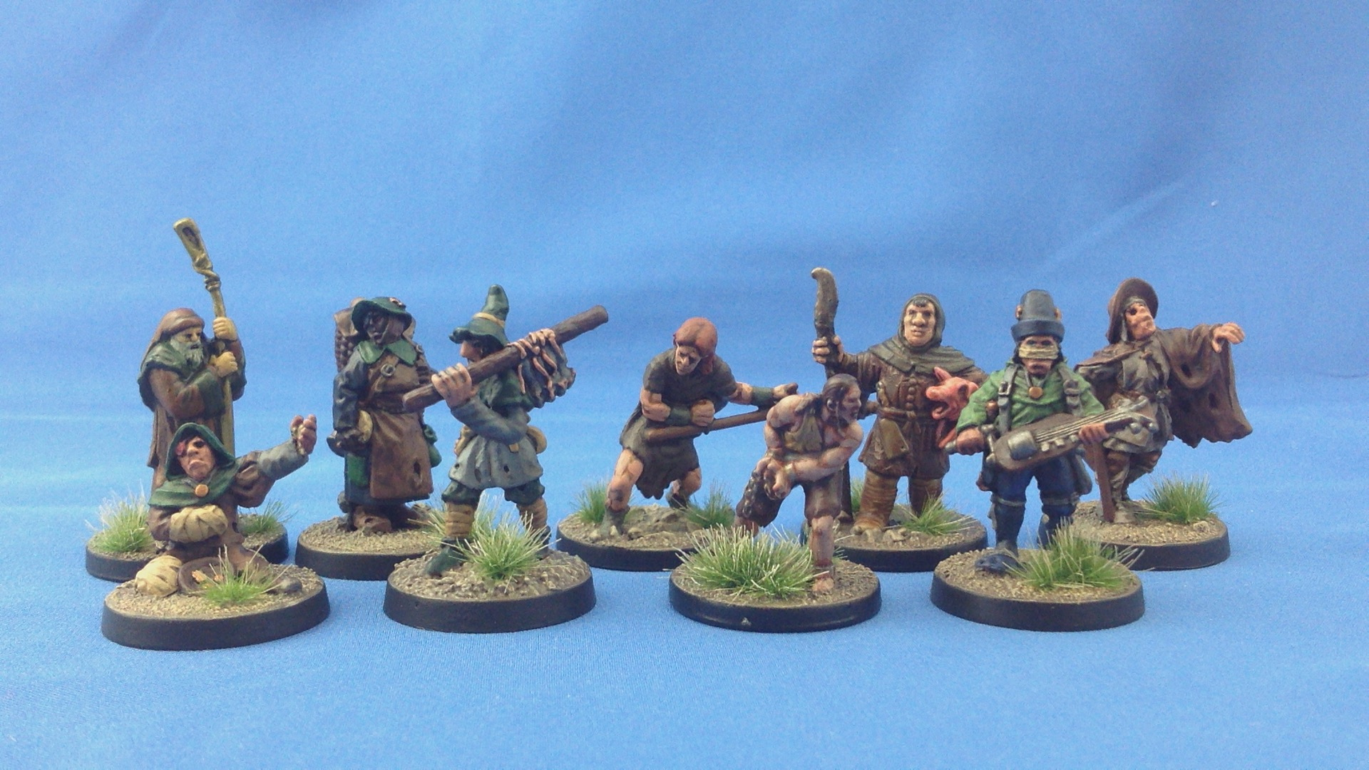Civilians from WotC, Lead Adventure, and Old Glory.