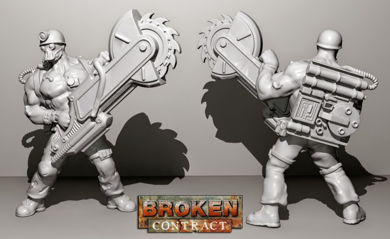 Breaker Trest 3D render by Tim Barry