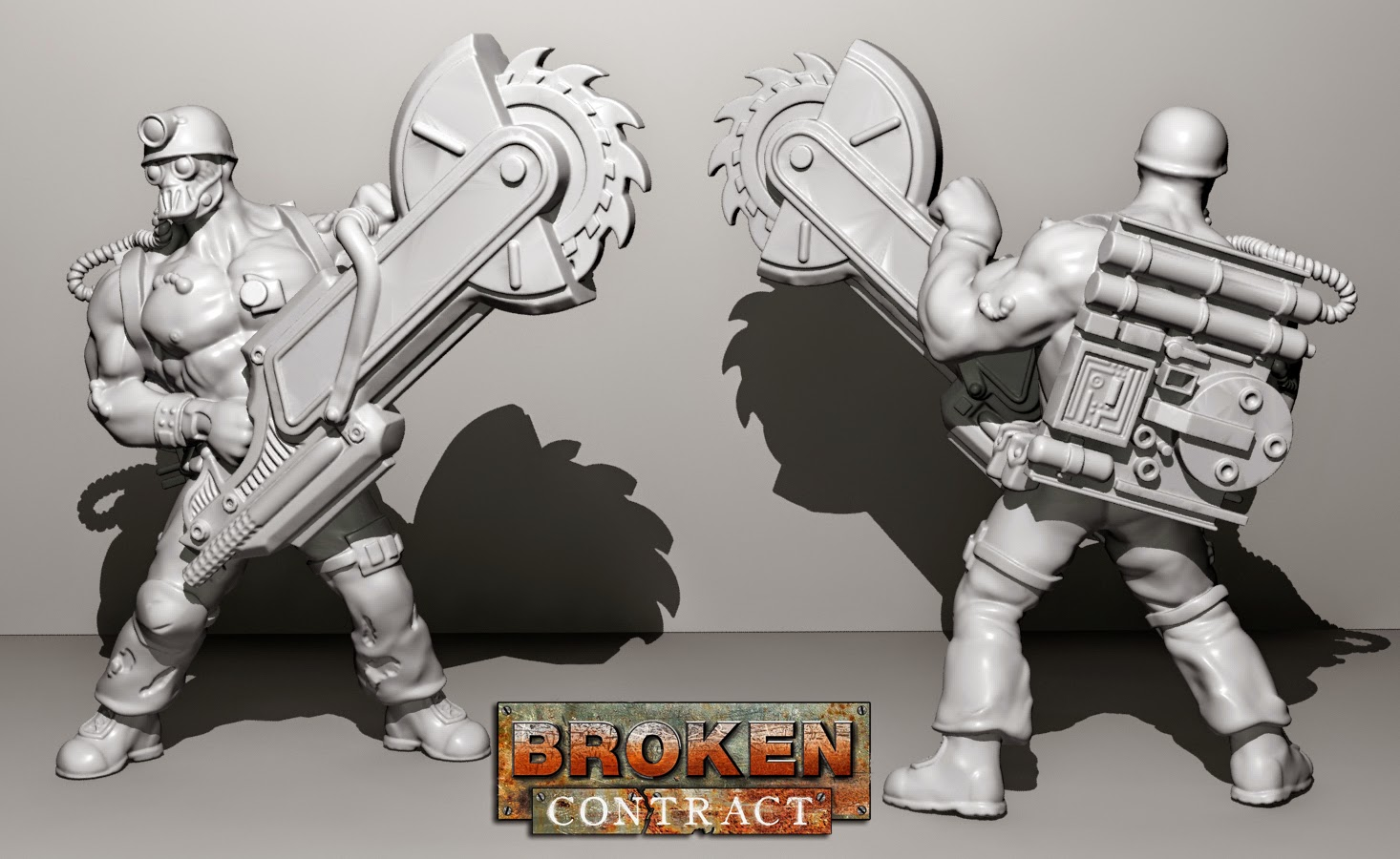 Year 2014 Tabletop Gaming News Tgn Ninja Division Painting Cerci Speed Circuit Broken Contract Has A Couple New Test 3d Render That Theyre Showing Off For Their Upcoming Box Set Will Be On Kickstarter Next