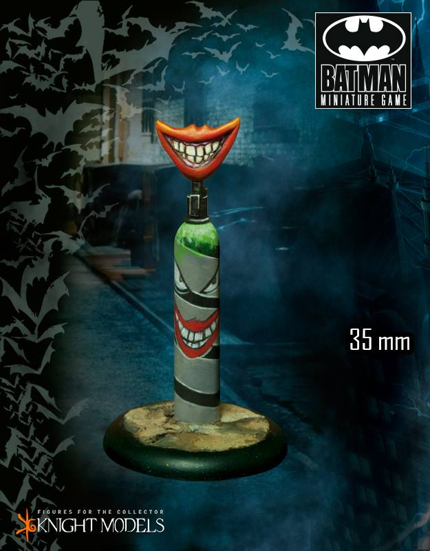 Joker's Gas Cannister