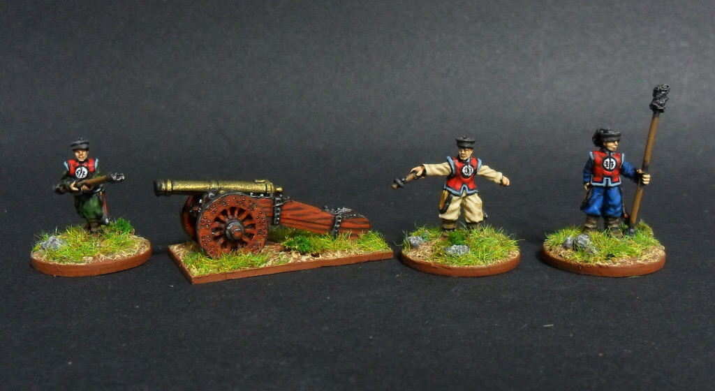 Khurasan's Manchu cannon in 15mm