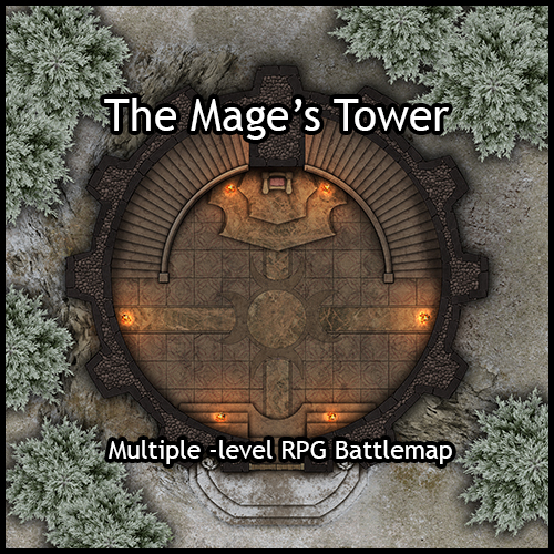Heroic Maps 100th Product The Mage S Tower Now Available