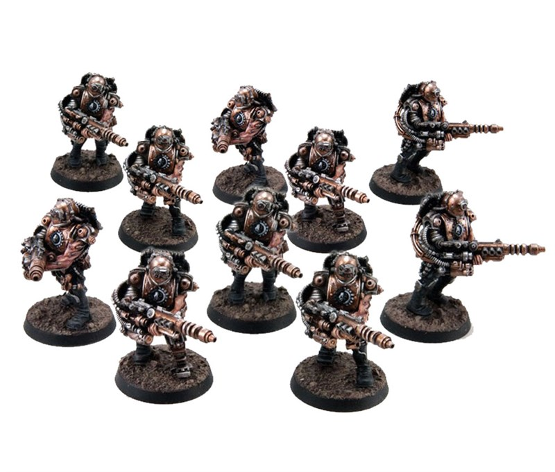 Mechanicum Tech-thralls with Las-locks