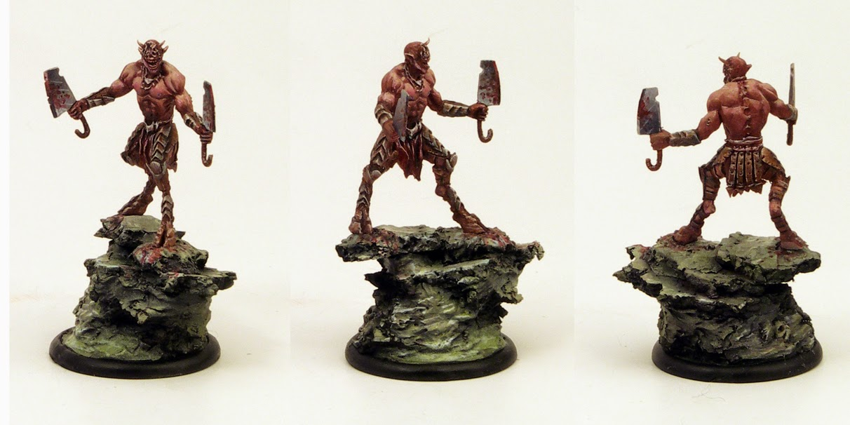 mutated devil painted