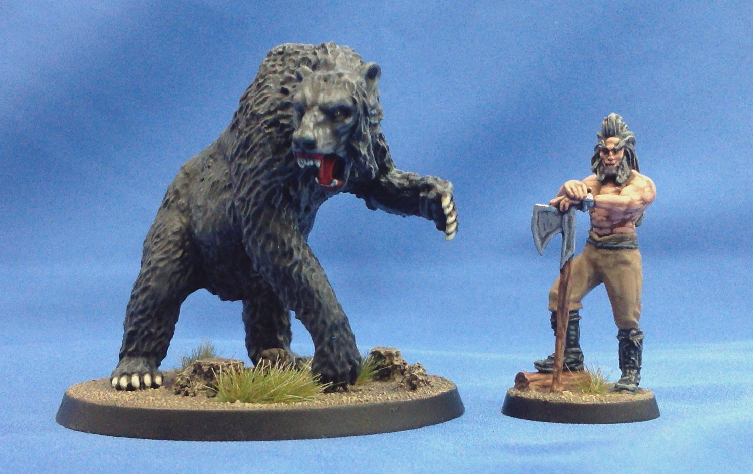 Enrico's Beorn is ready to crush any goblin monarch.