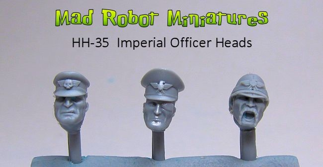 Imperial Officer Heads
