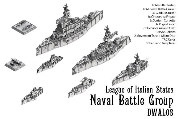 League of Italian States Naval Battle Group
