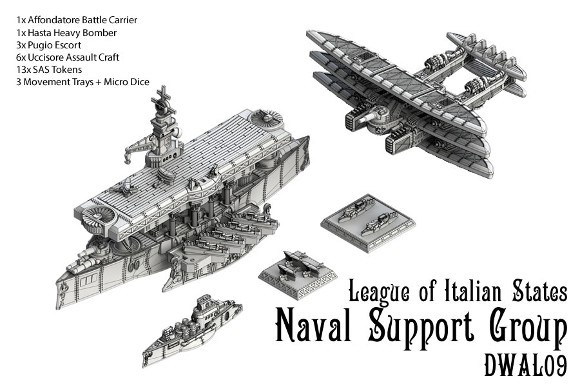 League of Italian States Naval Support Group