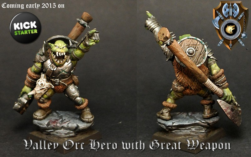 Valley Orc Hero with Great Weapon