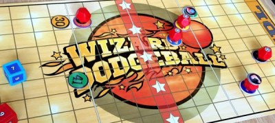 Wizard's Dodgeball Kickstarter board game Review