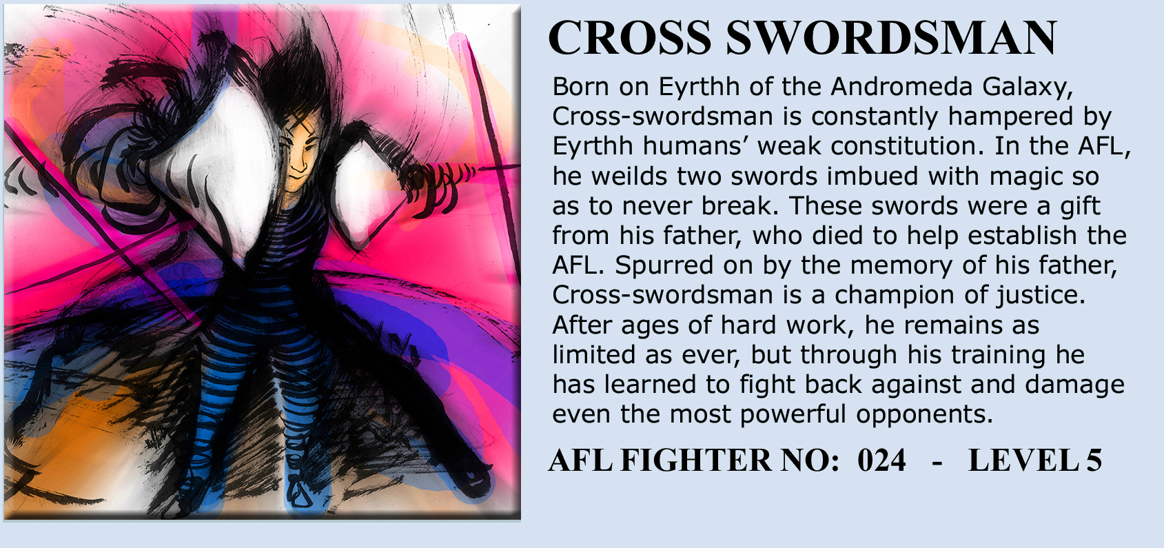 cross-swordsman