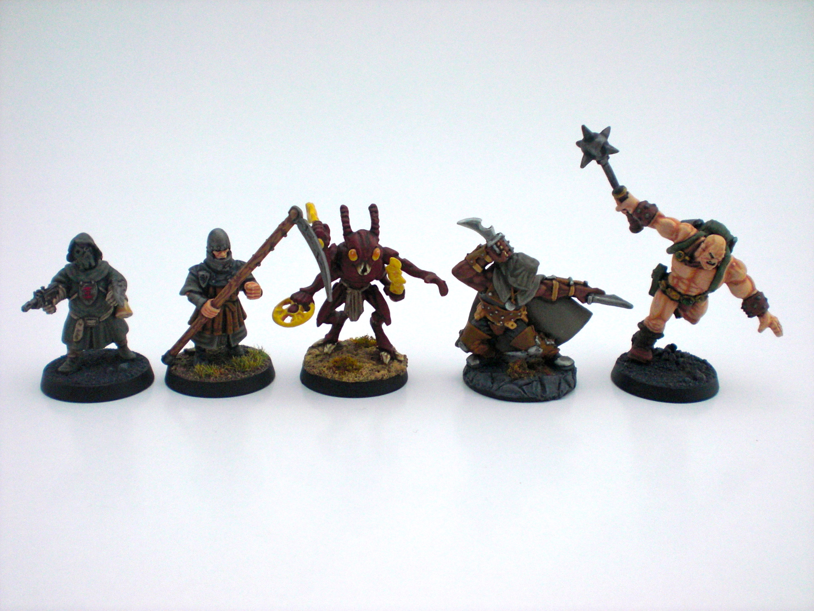 A selection of my minis.
