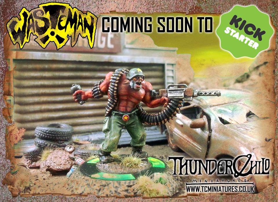 ThunderChild Miniatures is a new company on my radar.