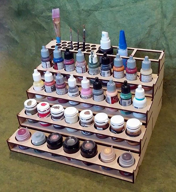 Large Paint Rack