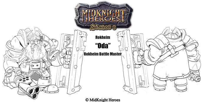 Oda Rokheim Battle Master