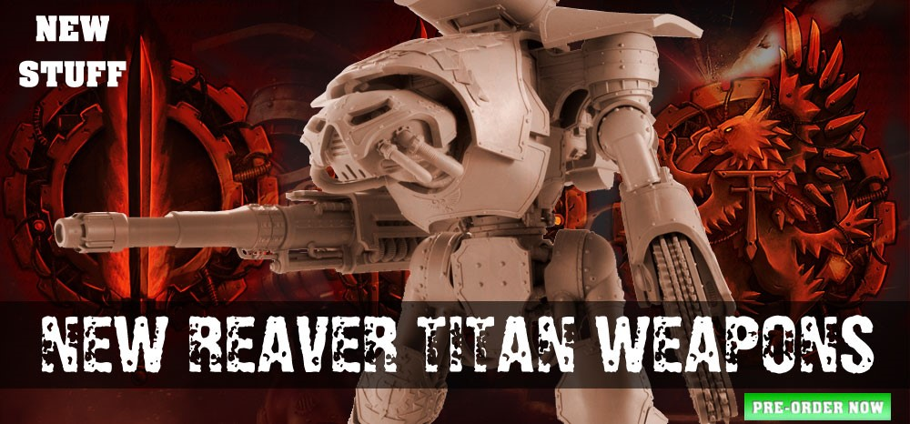 Reaver Titan Weapons