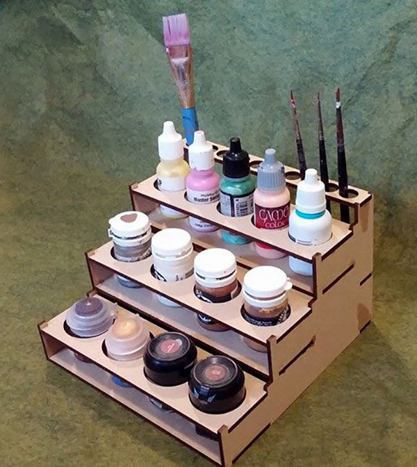 Small Paint Rack