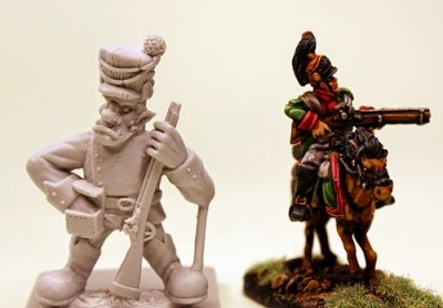Trolka and Elf Cavalry scale