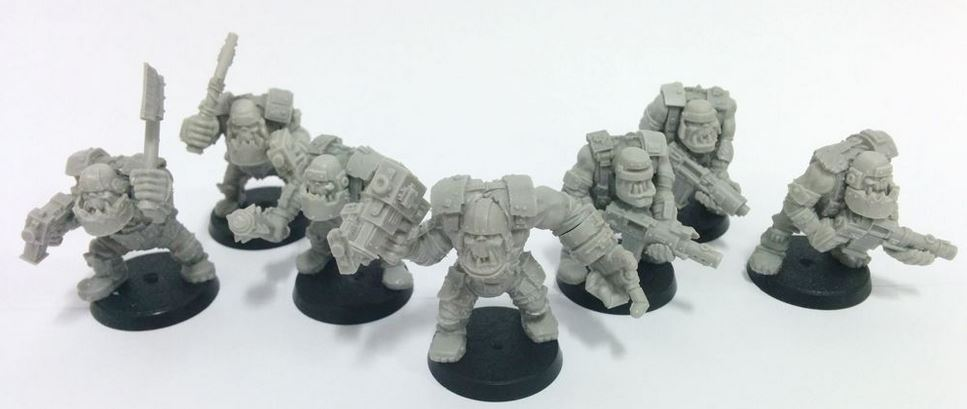 Armoured Orc Assault and SMG Squads Review