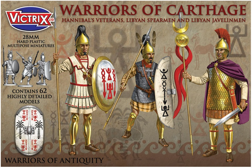 Carthaginians up for Pre-Order from Victrix – Tabletop ...
