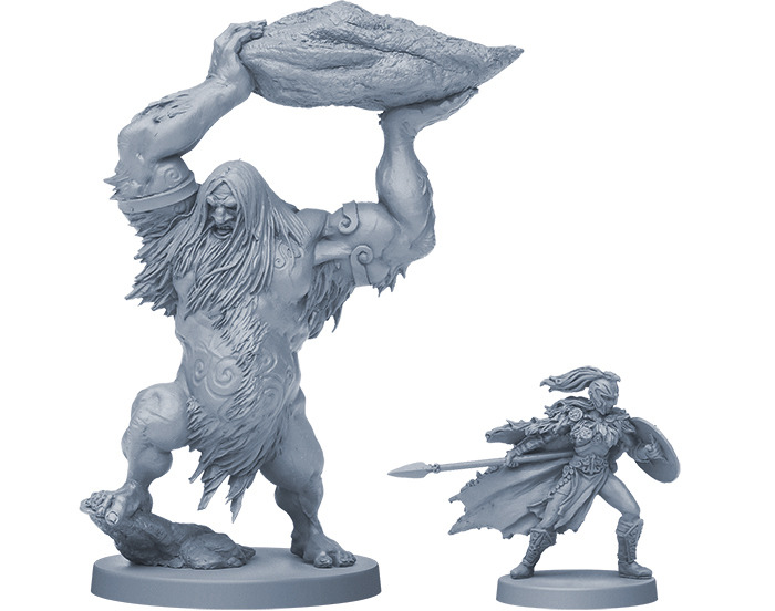 Frost Giant and Valkyrie