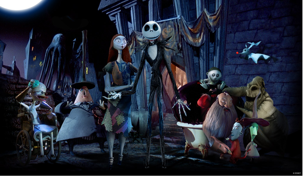 ... based on the popular Tim Burton film The Nightmare Before Christmas